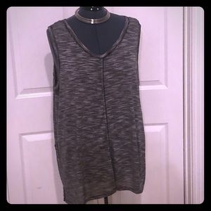 CABLE & GAUGE 2X Top NWOT SOFT sleeveless Shirt